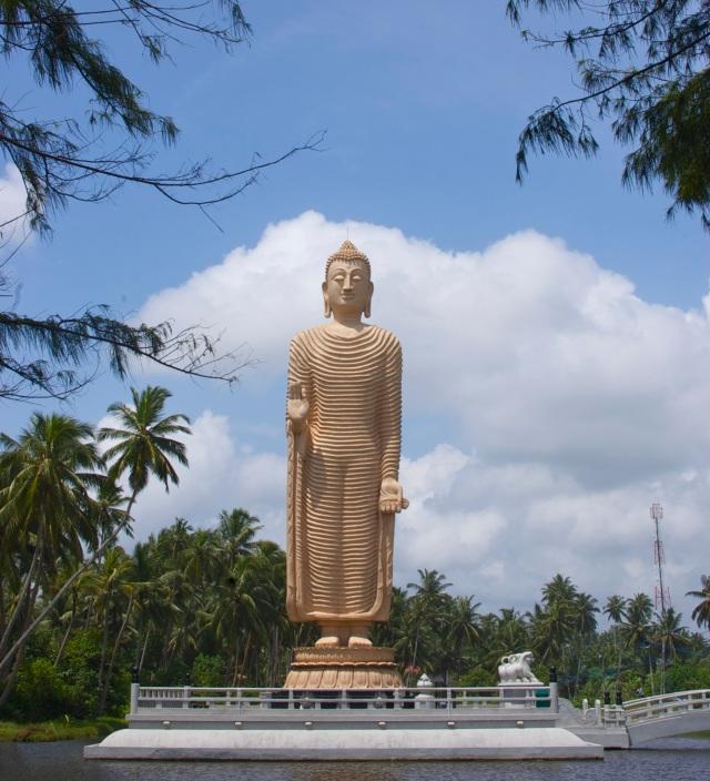 The Peraliya Buddha Statue and Tsunami Memorial